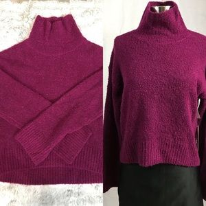 NWT✨Leith Bucle Sweater Purple Magenta  - Small